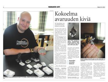 Warkauden Lehti 29.7.2014