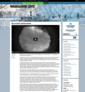 Warkauden Lehti (verkkojulkaisu) 18.3.2015
