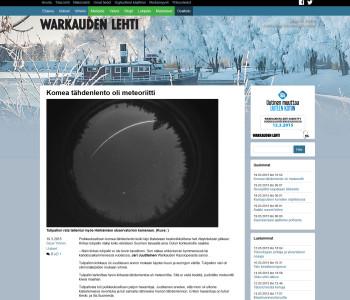 Warkauden Lehti (verkkojulkaisu) 19.3.2015