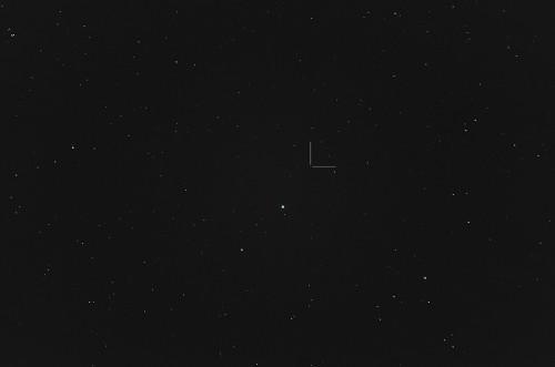 Asteroidi (354) Eleonora Nikon D5100, 200mm/f2.8, ISO3200, pinottu 40 x 1,3s