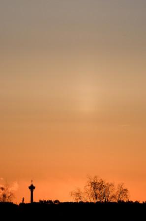 Auringonpilari