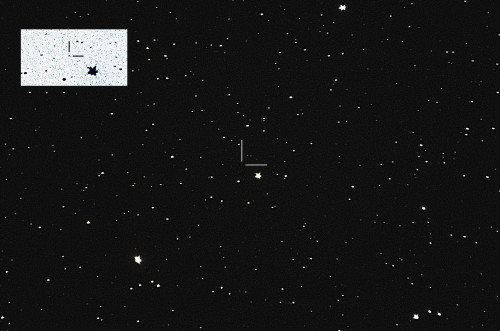 Asteroidi (1656) Suomi Nikon D5100, 200mm/f2.8, ISO3200, pinottu 256 x 1,3s