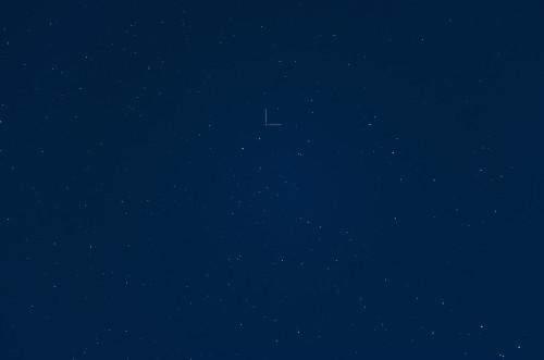 """Auringon sisarus"" HD 162826 / HIP 87382 Nikon D5100, 200mm/f2.8, ISO1600, pinottu 40 x 1,3s"