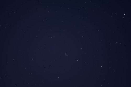 Asteroidi (584) Semiramis Nikon D7100, 200mm/f2.8, ISO1600, pinottu 58 x 1s