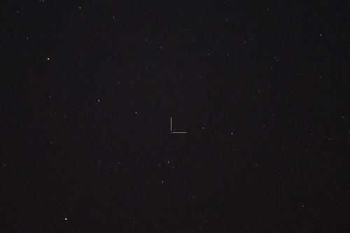 Asteroidi (80) Sappho Nikon D7100, 200mm/f2.8, ISO1600, pinottu 59 x 1,6s
