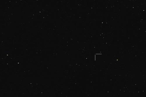 Asteroidi (16) Psyche Nikon D7100, 200mm/f2.8, ISO1600, pinottu 61 x 1,3s