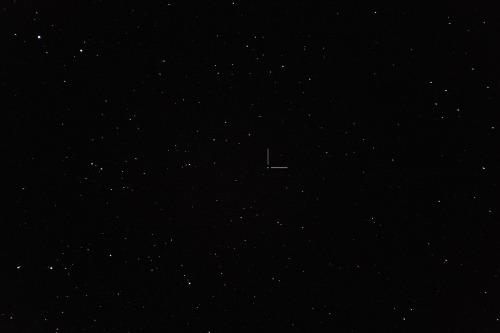 Asteroidi (6) Hebe Nikon D7100, 200mm/f2.8, ISO1600, pinottu 10 x 1,3s