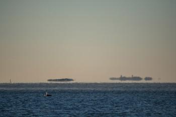 Kangastuksia Lauttasaaren rannalta