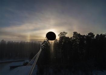 Saur, auringon ala-pilari, auringon yläpilari, ala-aurinko Pinottu 13 kuvaa.