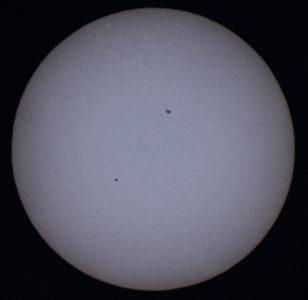 Merkuriuksen ylikulku Kello 17:56 - maksimi