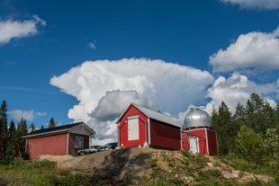 Alasinpilvi ja Härkämäen Observatorio